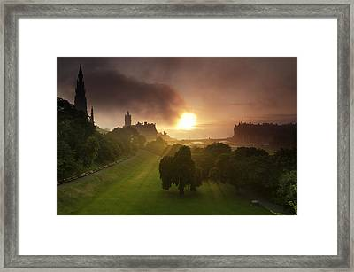 Lord Sun Framed Print