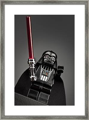 Lord Vader Framed Print by Samuel Whitton