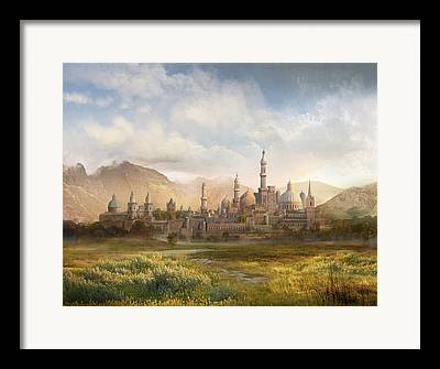 Warcraft Framed Prints
