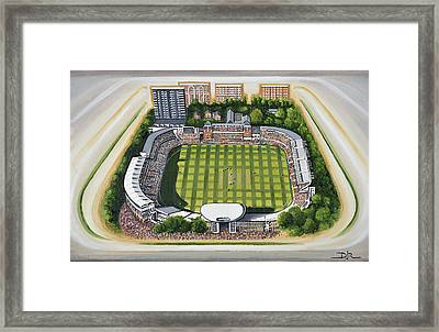 Lords Cricket Ground Framed Print by D J Rogers