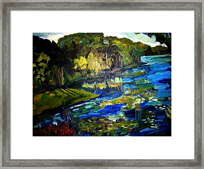 Lore Lake Framed Print