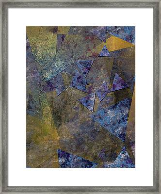 Framed Print featuring the digital art Lorem Ipsum by Bruce Rolff