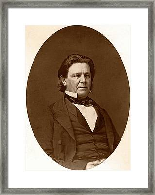 Lorenzo Langstroth Framed Print by American Philosophical Society