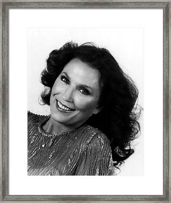 Loretta Lynn Close Up Framed Print by Retro Images Archive