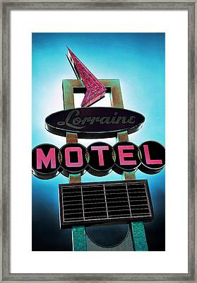 Lorraine Motel Framed Print