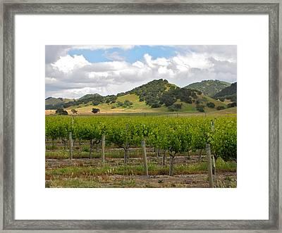 Los Alamos California Framed Print by Ray R Morawski