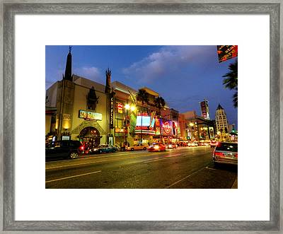 Los Angeles 008 Framed Print by Lance Vaughn