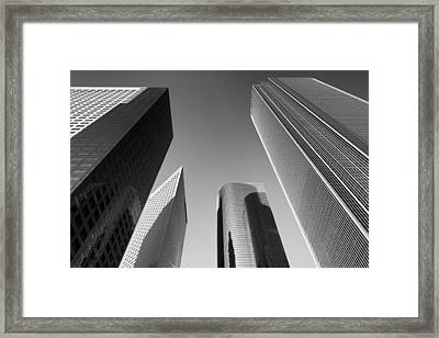 Los Angeles Architecture Framed Print
