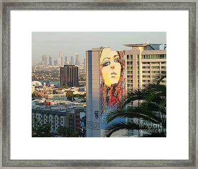 Los Angeles Golden Hour Framed Print
