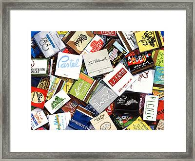 Los Angeles Gone But Not Forgotten Framed Print by Grace Swanson