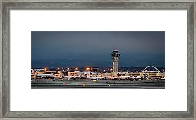 Los Angeles International Airport Framed Print by April Reppucci