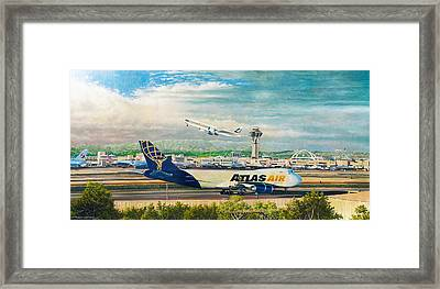 Los Angeles International Airport Framed Print by Douglas Castleman