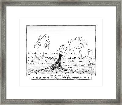 Los Angeles Framed Print by Jack Ziegler