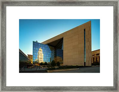 Los Angeles Police Dept Headquarters Framed Print