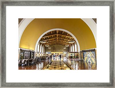 Los Angeles Union Station Framed Print