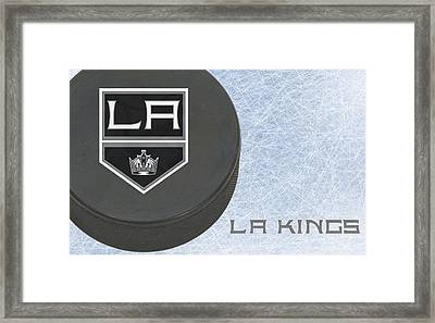 Los Angles Kings Framed Print by Joe Hamilton