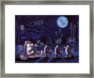 Los Cantantes Or The Singers Framed Print