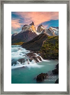 Los Cuernos Rising Framed Print