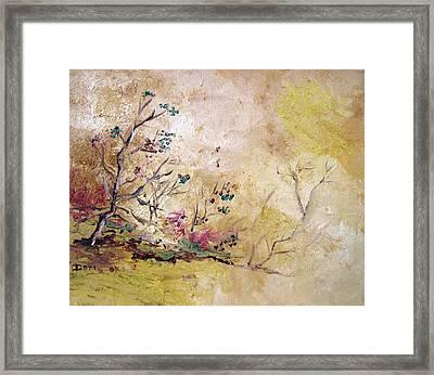 Los Horgolitos 2 Framed Print by Doris Cohen