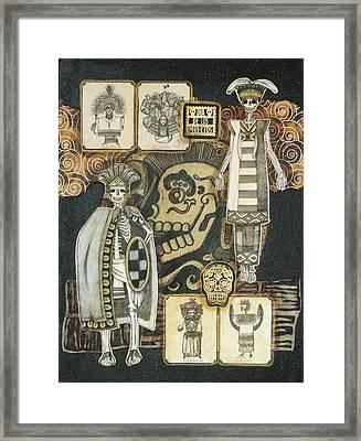 Los Indios Framed Print