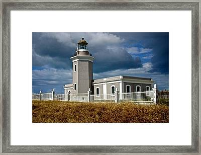 Los Morillos Lighthouse Framed Print