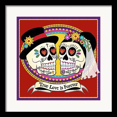 Marriage Digital Art Framed Prints