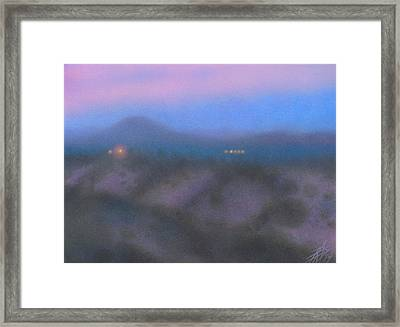 Los Penasquitos Canyon Vi Framed Print by Robin Street-Morris