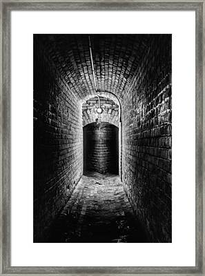 Lose Yourself In Pensacola Bw Framed Print
