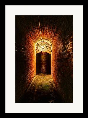 Hope At The End Of The Tunnel Framed Prints