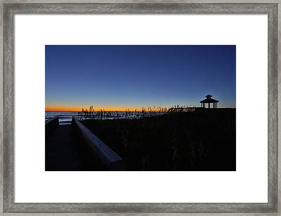 Losing It Framed Print by Jimmy Taaffe