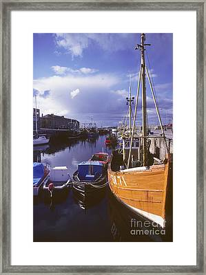 Lossiemouth Harbour - Scotland Framed Print by Phil Banks