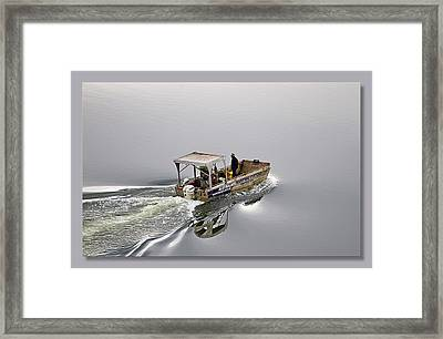 Framed Print featuring the photograph Lost 02 by Kevin Chippindall