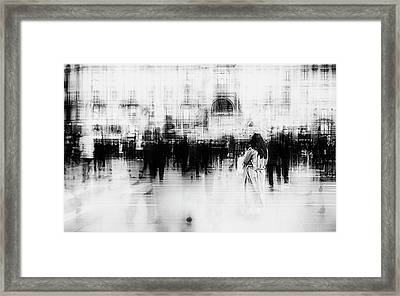 Lost Among Ghosts Framed Print