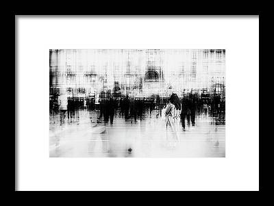 Crowds Framed Prints