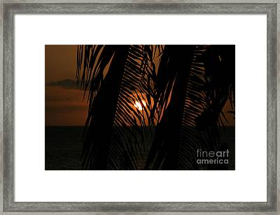 Lost And Found In Sunset Land Framed Print by Sharon Mau
