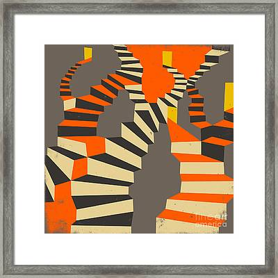 Lost And Found Framed Print by Jazzberry Blue