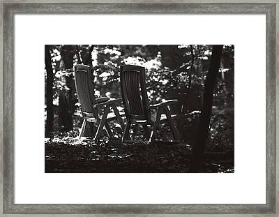 Lost And Found Framed Print by Rebecca Sherman