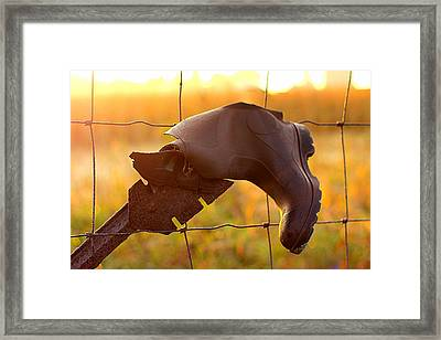 Framed Print featuring the photograph Lost And Found by Viviana  Nadowski