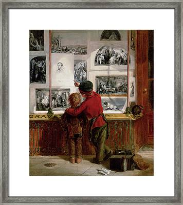 Lost And Found Framed Print by William Macduff