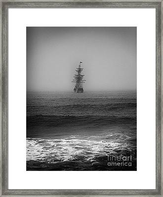 Lost At Sea Framed Print by David Millenheft