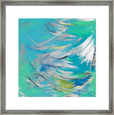 Lost At Sea Framed Print by PainterArtist FIN