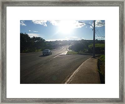 Framed Print featuring the photograph Lost by Beto Machado