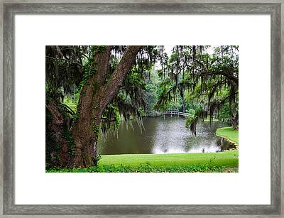Lost Bridge Framed Print by John Johnson