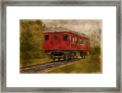 Lost Carriage 01 Framed Print by Kevin Chippindall