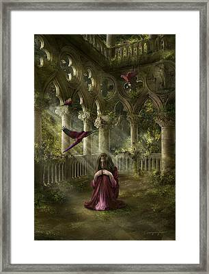 Lost Framed Print by Cassiopeia Art