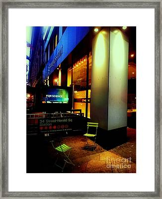 Lost Conversation Framed Print by James Aiken