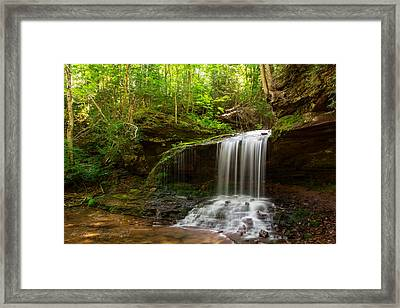 Lost Creek Falls Framed Print