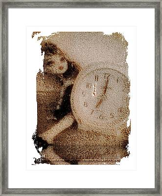 Lost Doll In Time Framed Print
