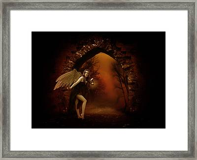 Lost Fairy Framed Print by Ester  Rogers
