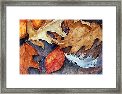 Lost Feather Framed Print by Enola McClincey